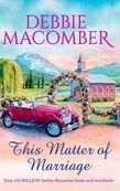 This Matter Of Marriage (Mills & Boon M&B)
