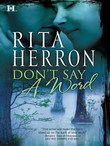 Don't Say a Word (Mills & Boon M&B)