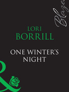 One Winter's Night (Mills & Boon Blaze) (Encounters, Book 19)