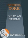 Solid as Steele (Mills & Boon Intrigue) (43 Light Street, Book 28)