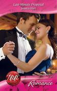 Last-Minute Proposal (Mills & Boon Romance)