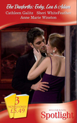 The Danforths: Toby, Lea and Adam: Cowboy Crescendo / Steamy Savannah Nights / The Enemy's Daughter (Mills & Boon Spotlight)