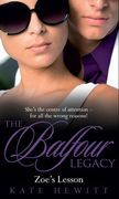 Zoe's Lesson (The Balfour Legacy, Book 5)
