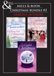Christmas Trio B: A Cedar Cove Christmas / Call Me Mrs. Miracle / A Countess by Christmas / The Earl's Mistletoe Bride / A Winter Love Story / Give Me Forever / Jed Hunter's Reluctant Bride (Mills & Boon e-Book Collections)