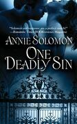 Annie Solomon - One Deadly Sin