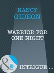 Warrior For One Night (Mills & Boon Intrigue)