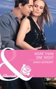More Than One Night (Mills & Boon Cherish)