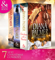 Diana Palmer Christmas Collection: The Rancher / Christmas Cowboy / A Man of Means / True Blue / Carrera's Bride / Will of Steel / Winter Roses (Mills & Boon e-Book Collections)