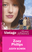 Zoey Phillips (Mills & Boon Vintage Superromance) (Girlfriends, Book 1)