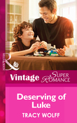 Deserving of Luke (Mills & Boon Vintage Superromance) (Going Back, Book 30)