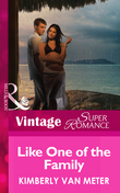 Like One of the Family (Mills & Boon Vintage Superromance) (Family in Paradise, Book 1)
