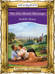 The One Month Marriage (Mills & Boon Historical)