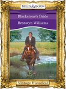 Blackstone's Bride (Mills & Boon Historical)