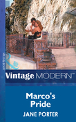 Marco's Pride (Mills & Boon Modern)