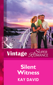 Silent Witness (Mills & Boon Vintage Superromance) (Code Red, Book 2)
