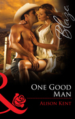 One Good Man (Mills & Boon Blaze)