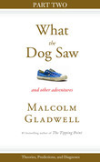 Malcolm Gladwell - Theories, Predictions, and Diagnoses: Part Two from What the Dog Saw