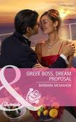 Greek Boss, Dream Proposal (Mills & Boon Cherish)