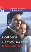 Colton's Secret Service (Mills & Boon Intrigue)