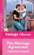 The Marriage Agreement (Mills & Boon Vintage Cherish)