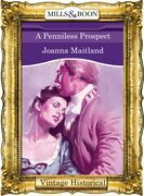 A Penniless Prospect (Mills & Boon Historical)