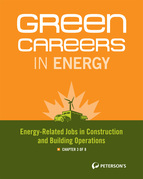 Green Careers in Energy: Energy-Related Jobs in Construction and Building Operations, Chapter 3 of 8