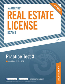 Master the Real Estate License Exam: Practice Test 3