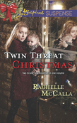 Twin Threat Christmas: One Silent Night / Danger in the Manger (Mills & Boon Love Inspired Suspense)