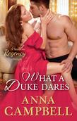 What A Duke Dares (Mills & Boon M&B)