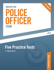 Master the Police Officer Exam: Five Practice Tests: Part III of III