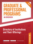 Peterson's Graduate & Professional Programs: An Overview--Directory of Institutions and Their Offerings
