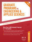 Peterson's Graduate Programs in Engineering & Applied Sciences, Aerospace/Aeronautical Engineering, Agricultural Engineering & Bioengineering, and Arc