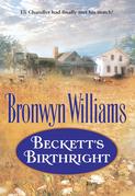 Beckett's Birthright (Mills & Boon Historical)