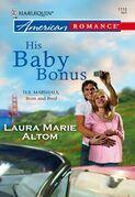 His Baby Bonus (Mills & Boon American Romance)