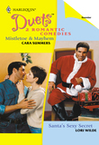 Mistletoe & Mayhem: Mistletoe & Mayhem / Santa's Sexy Secret (Mills & Boon Silhouette)