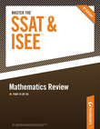 Master the SSAT/ISEE: Mathematics Review: Part VI of VIII