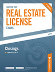Master the Real Estate License Exam: Closings: Chapter 13 of 14