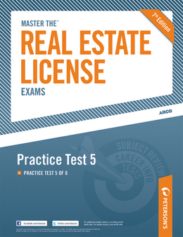 Master the Real Estate License Exam: Practice Test 5