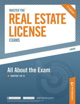 Master the Real Estate License Exam: All about the Exam: Chapter 1 of 14