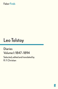 Tolstoy's Diaries Volume 1: 1847-1894