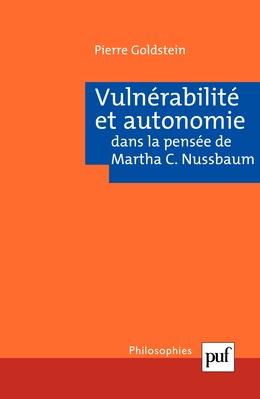 Vulnérabilité et autonomie dans la pensée de Martha C. Nussbaum