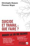 Suicide et travail : que faire ?