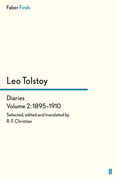 Tolstoy's Diaries Volume 2: 1895-1910