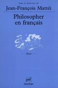 Philosopher en français