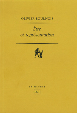 Être et représentation