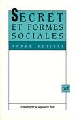 Secret et formes sociales