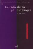 La formation du radicalisme philosophique. Tome 3