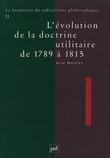 La formation du radicalisme philosophique. Tome 2