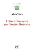 Lettre à Rousseau sur l'intérêt littéraire