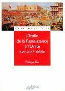 L'Italie de la renaissance à l'unité - Livre de l'élève - Edition 2001: XIXe - XXe siècle